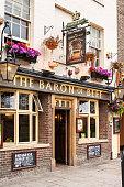 The Baron of Beef pub. Cambridge, England
