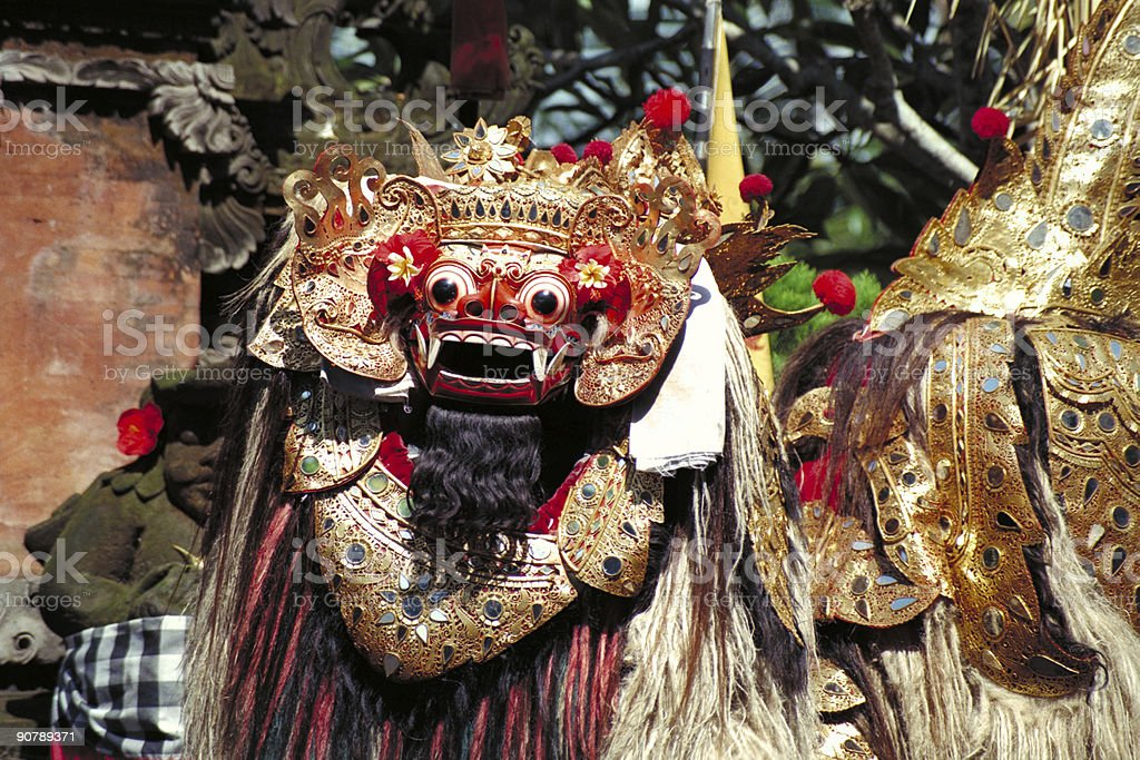 The Barong Dance stock photo