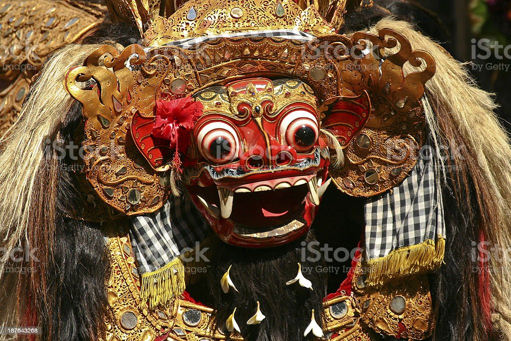The Barong stock photo