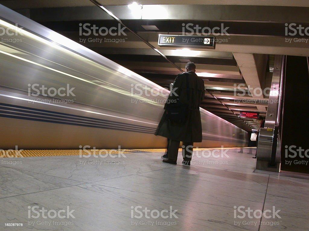 The Bart royalty-free stock photo