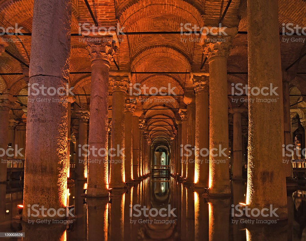 Die Basilika-Zisterne, istanbul, Türkei. – Foto