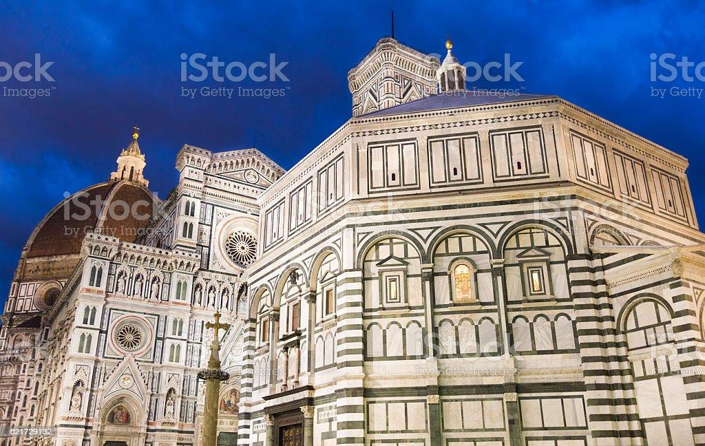 The Basilica di Santa Maria del Fiore, Florence stock photo
