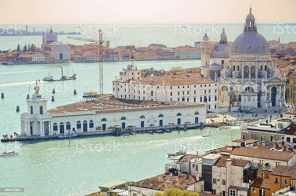 The Basilica di Santa Maria della Salute royalty-free stock photo