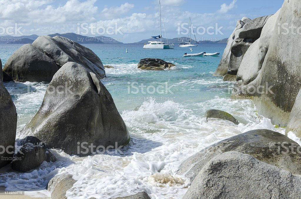 The Baths - BVI's stock photo