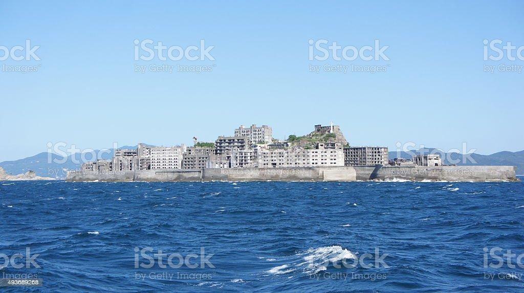 この島(HASHIMA に長崎県(日本) ロイヤリティフリーストックフォト