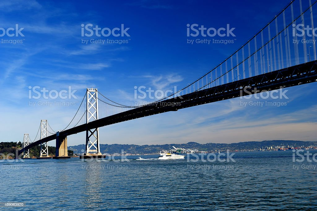 The Bay Bridge stock photo