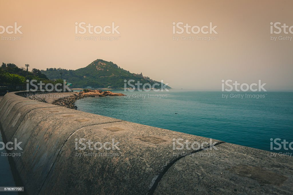 The Bay in Stanley, Hong Kong royalty-free stock photo