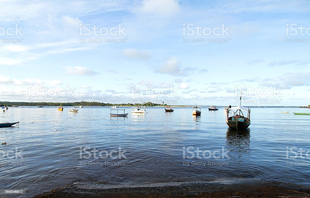 The Bay of Itacare royalty-free stock photo