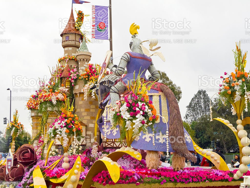 The Bayer Advanced 2011 Rose Parade Float stock photo