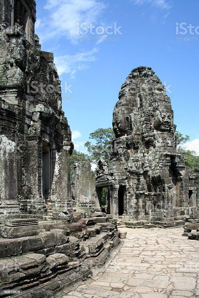 Den Bayon von Angkor Thom-Kambodscha – Foto