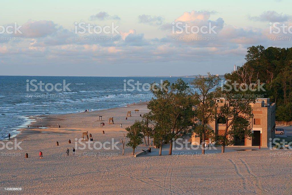 The Beach House stock photo