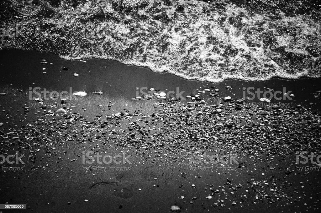 The beach of Corfu Island, Greece stock photo
