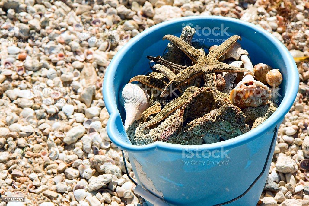 The Beach Pail royalty-free stock photo