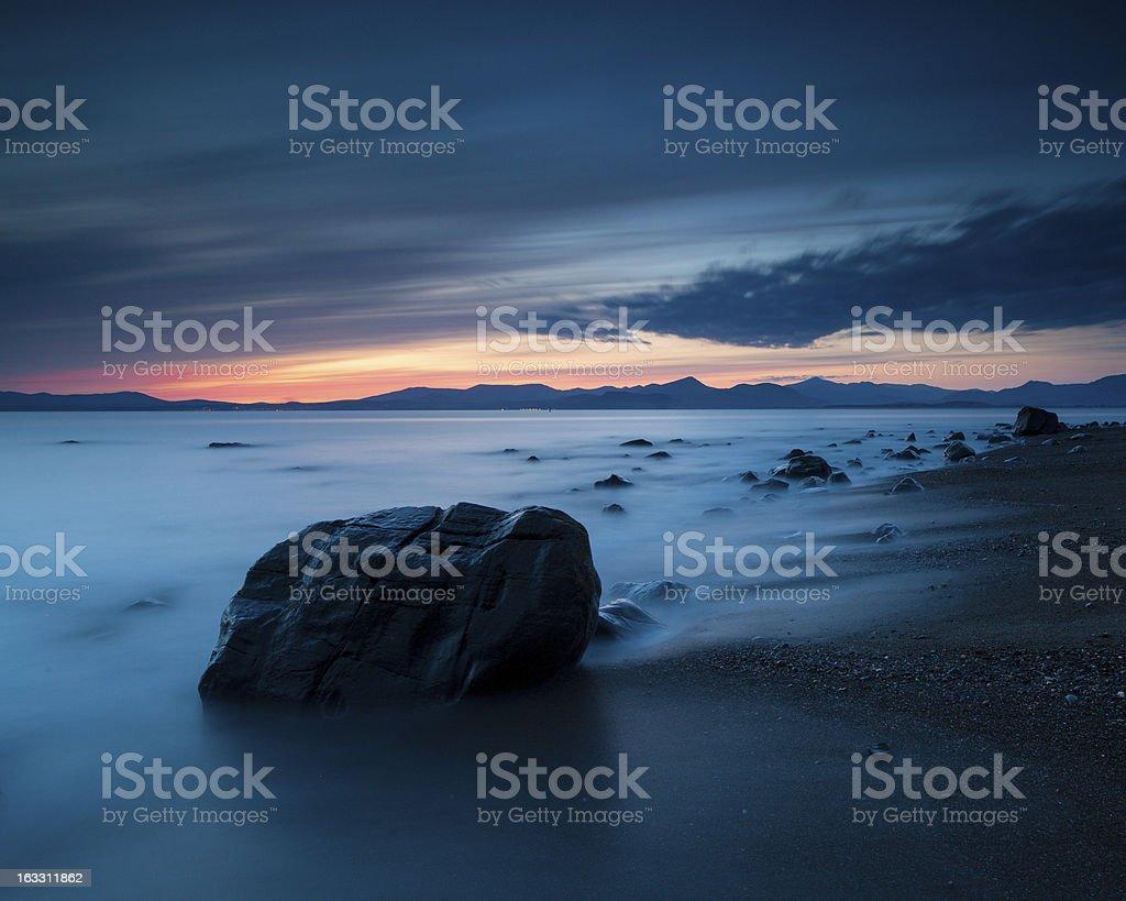 The Beach royalty-free stock photo