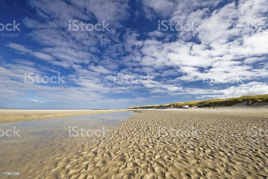 The beach royalty-free stock photo