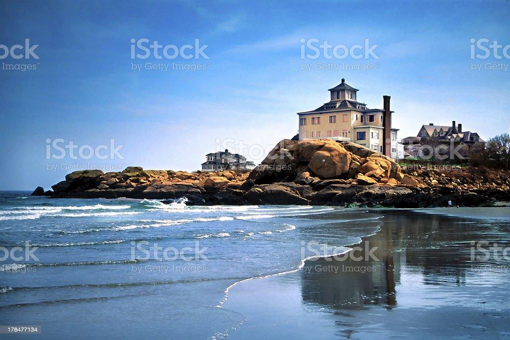 The Beaches of Cape Ann, Massachusetts stock photo