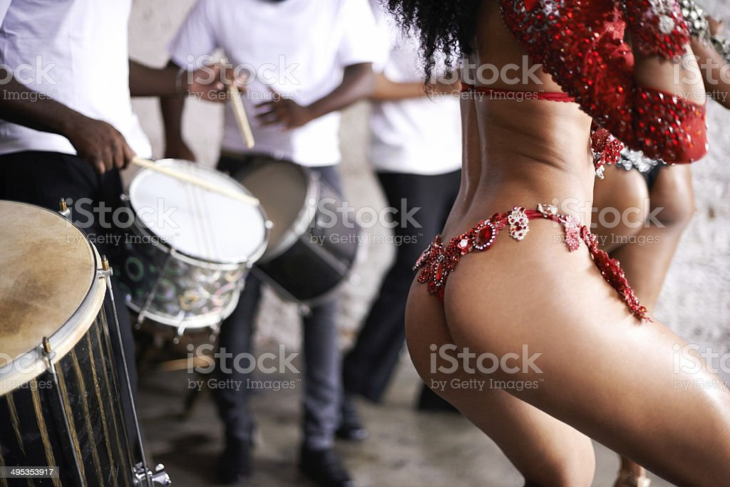 The beat of Brazil stock photo
