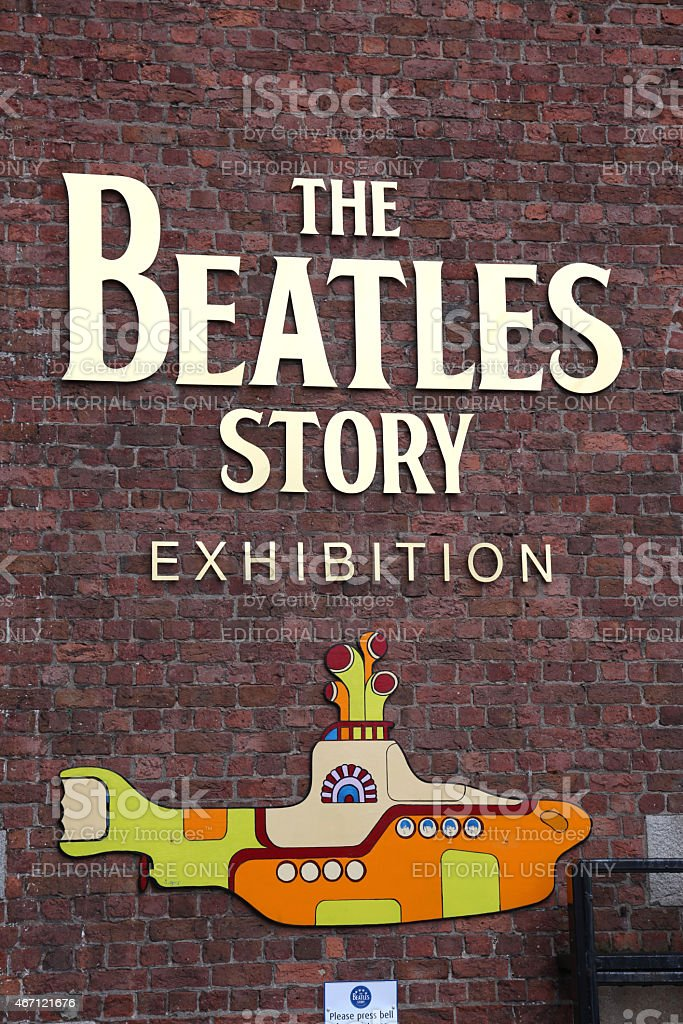 The Beatles Story museum entrance stock photo