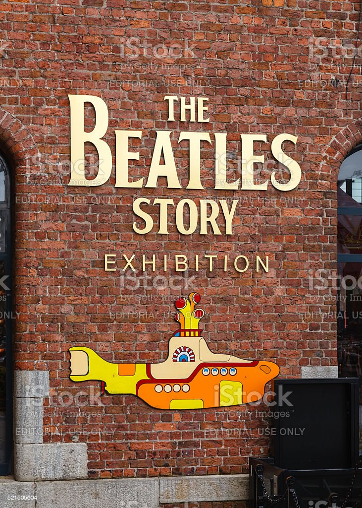 The Beatles Story stock photo