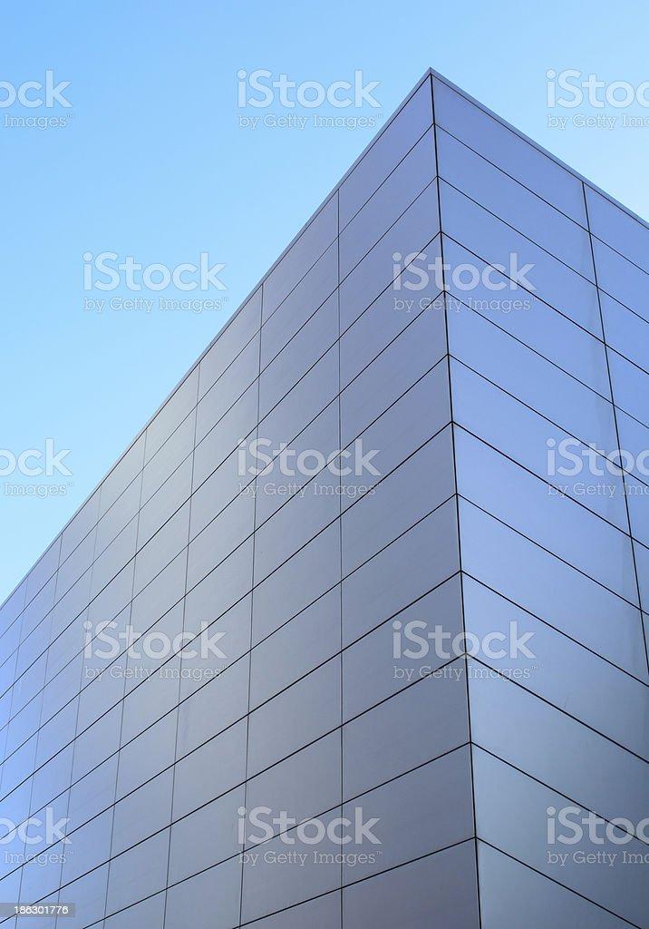 the beautiful building corner stock photo