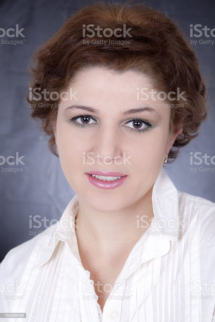 The Beautiful Girl royalty-free stock photo