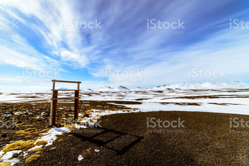 The beautiful landscape of Iceland stock photo