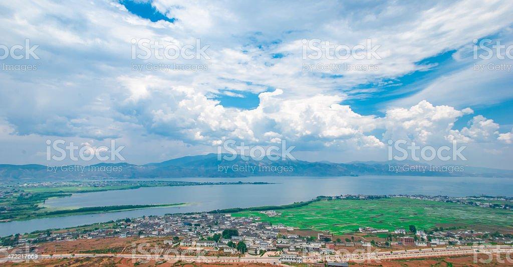 The beautiful scenery in Yunnan stock photo