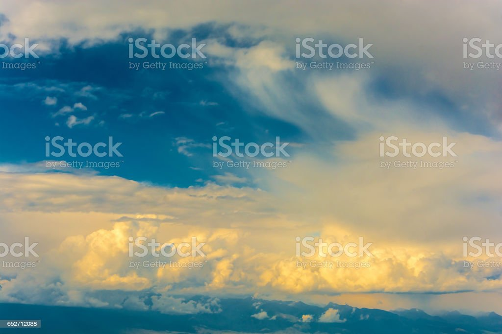 The beautiful texture of dry ground. stock photo
