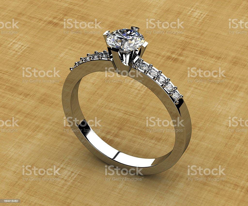 The beauty diamond royalty-free stock photo