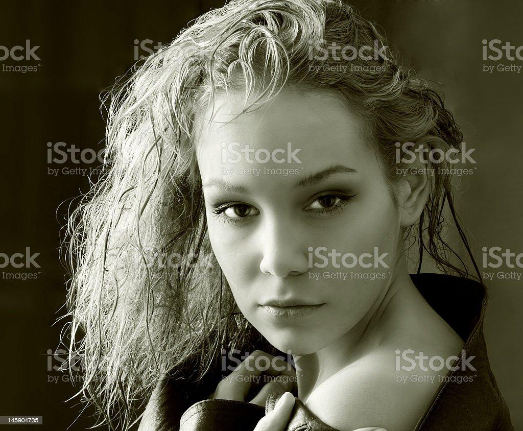 the beauty girl royalty-free stock photo