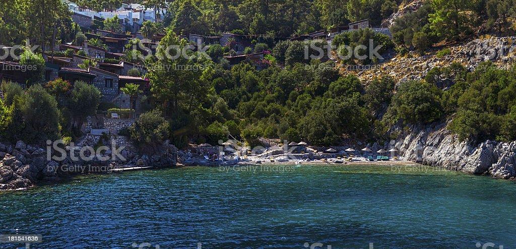 The Beauty of Aegen Sea royalty-free stock photo