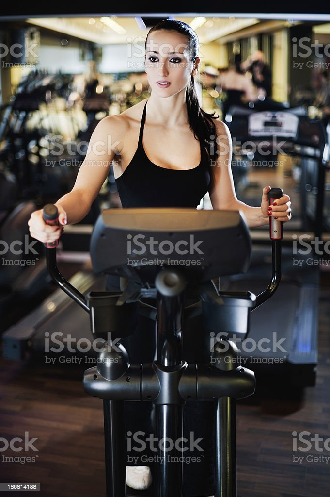 The Beauty Of Exercise stock photo