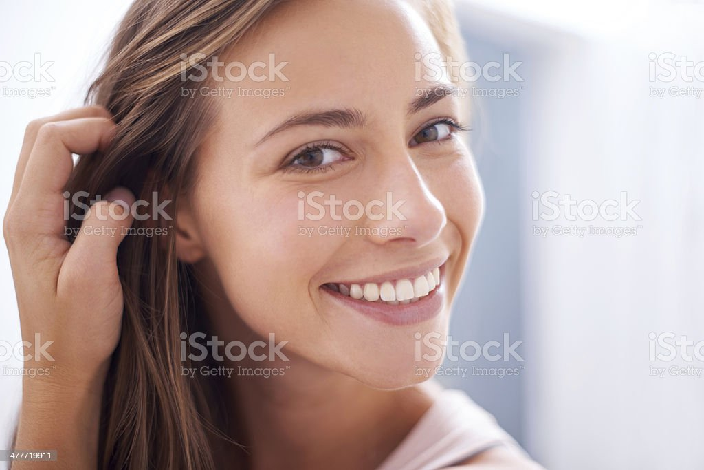 The beauty of youth stock photo