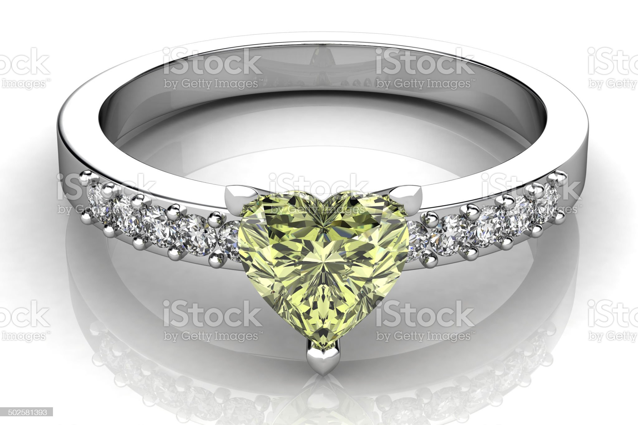 the beauty wedding ring royalty-free stock photo