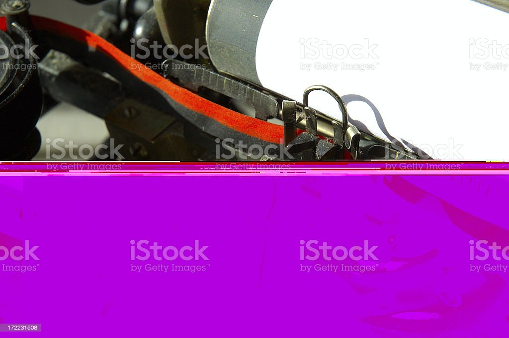 The beginning of a story royalty-free stock photo