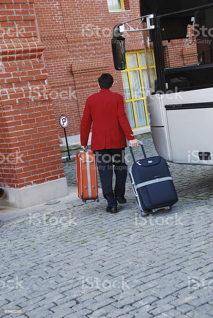 The beginning of holiday stock photo