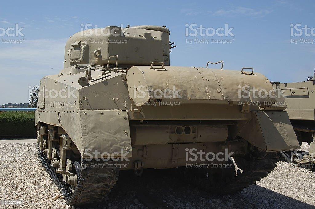 the  beige tank stock photo