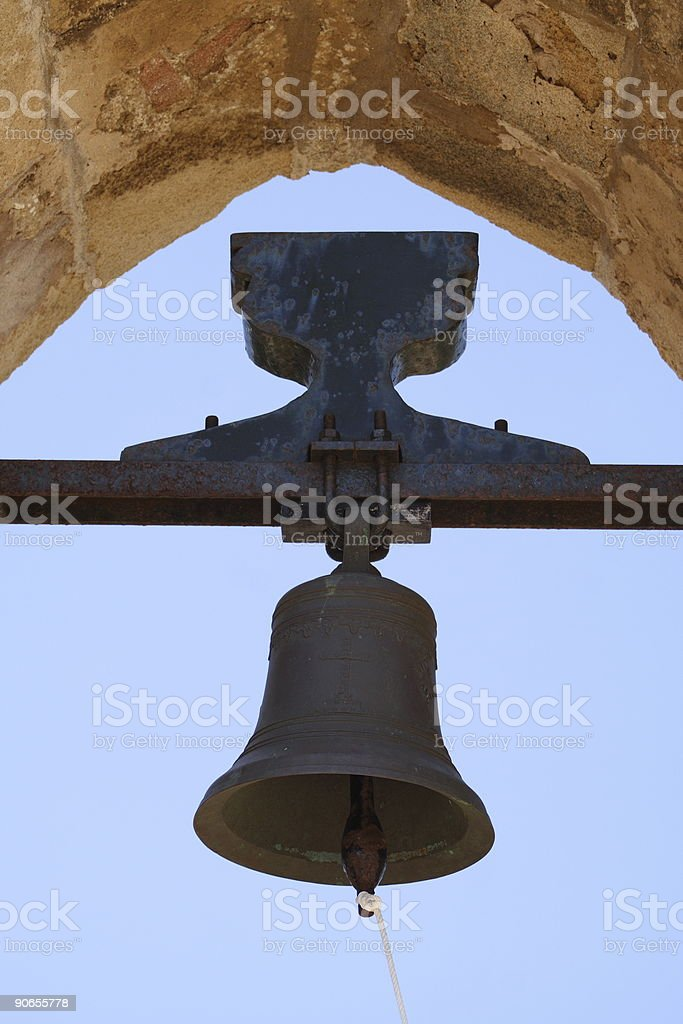 The bell royalty-free stock photo