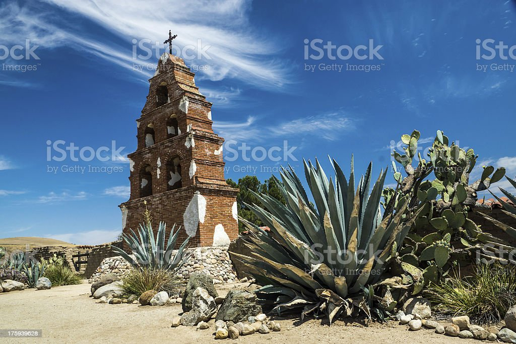 The Bells of San Miguel royalty-free stock photo