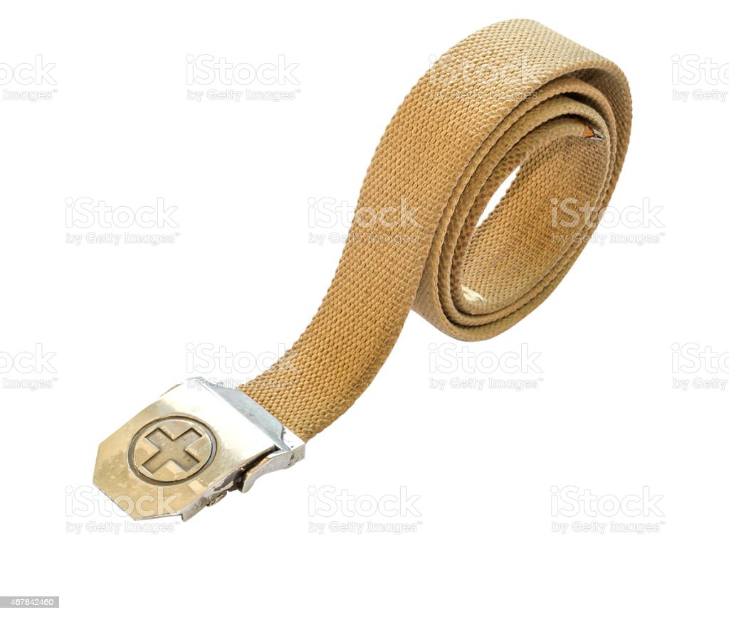 The belt apparel. stock photo