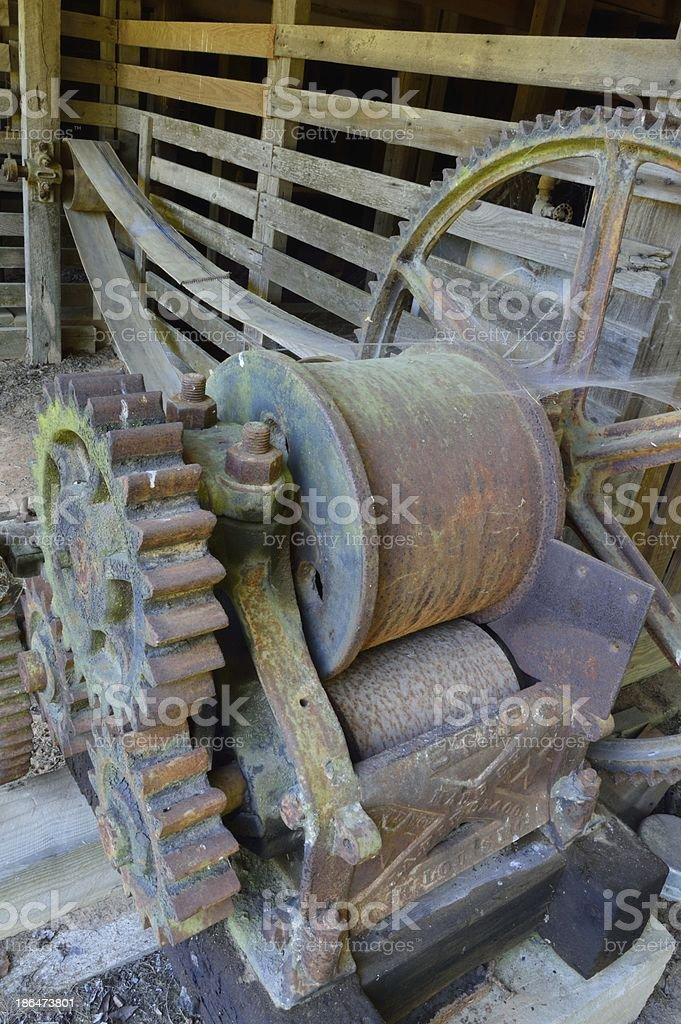 the belt of slavery has stopped... royalty-free stock photo