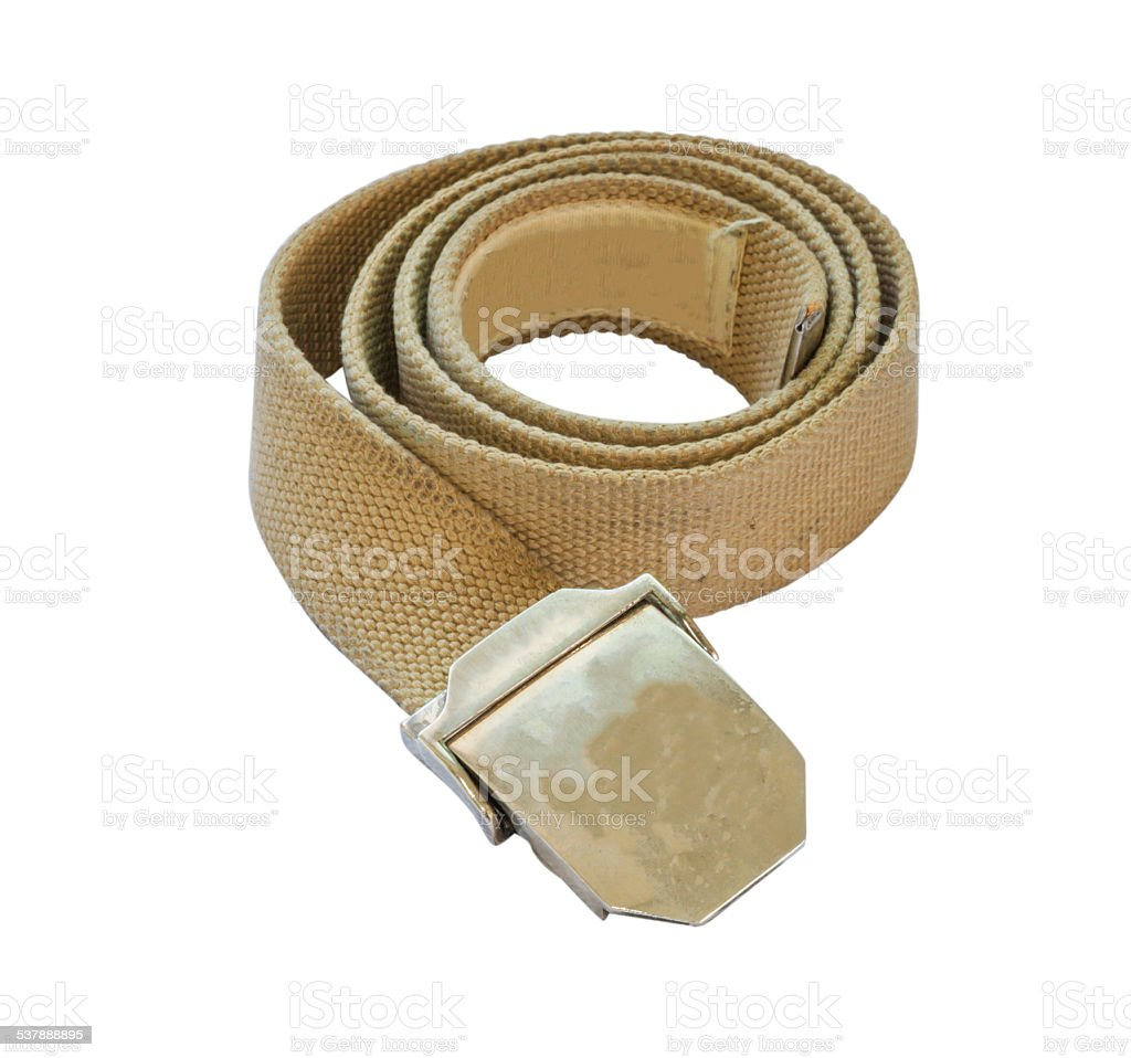 The belt. stock photo