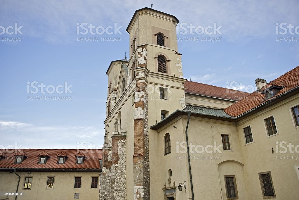 The Benedictine Abbey royalty-free stock photo