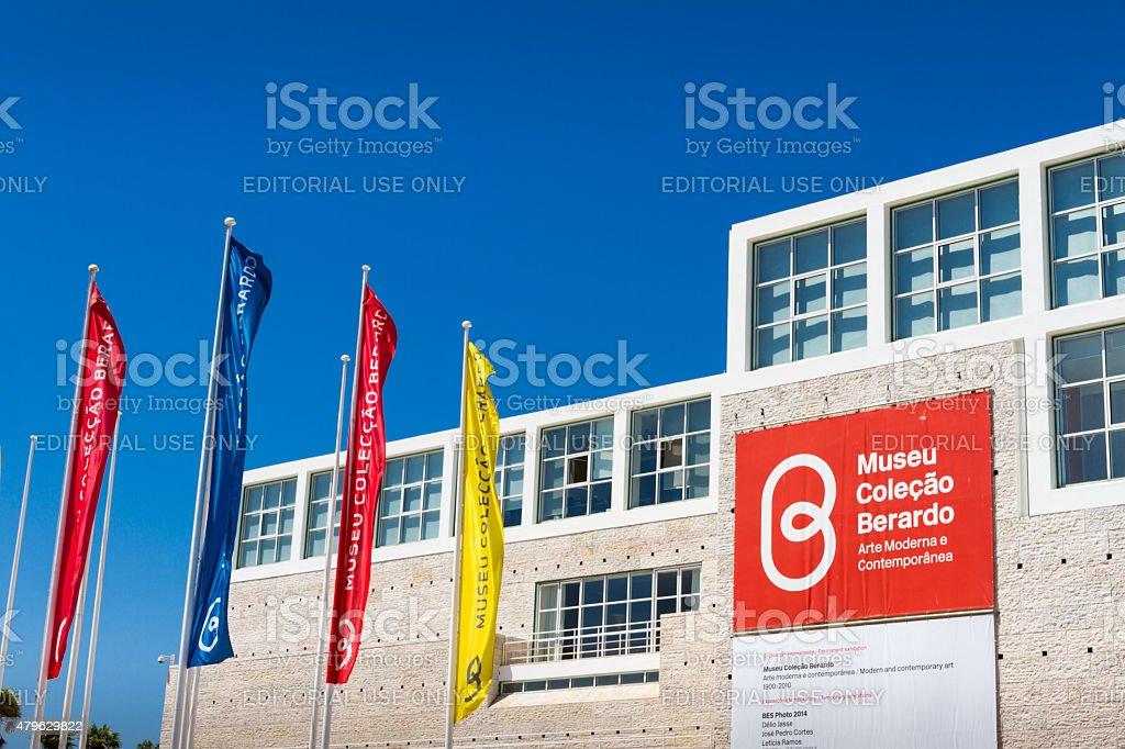 The Berardo Collection Museum in Lisbon stock photo