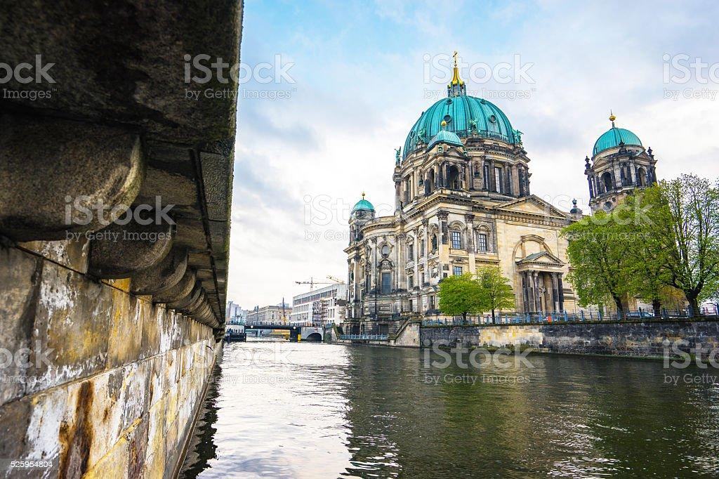 The Berlin Cathedral in Berlin, Germany stock photo