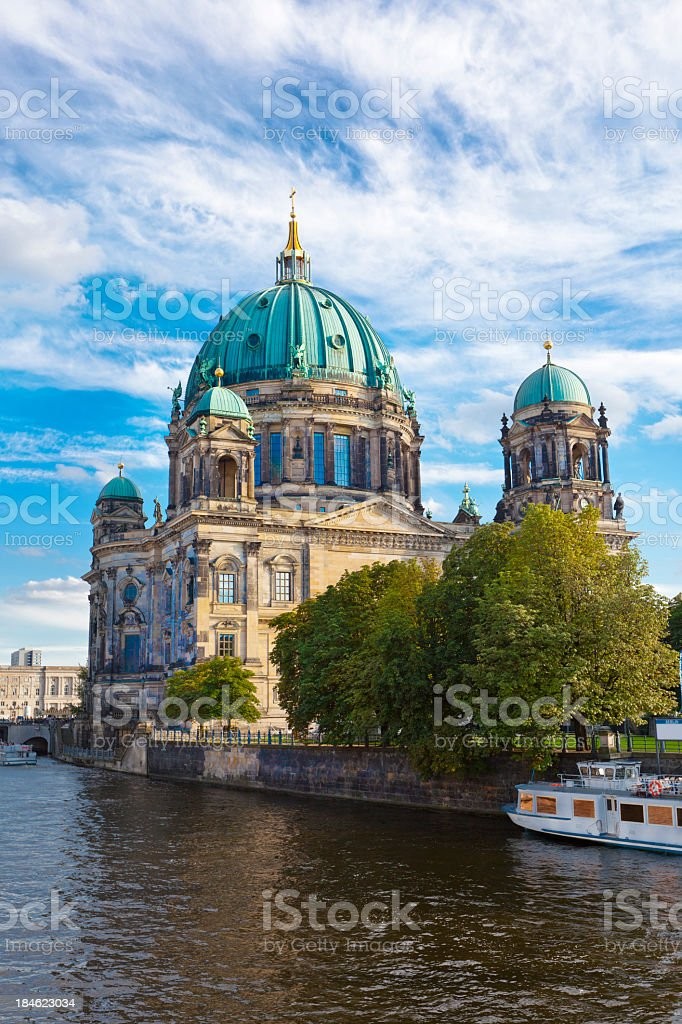 The Berlin Dome Cathedral stock photo