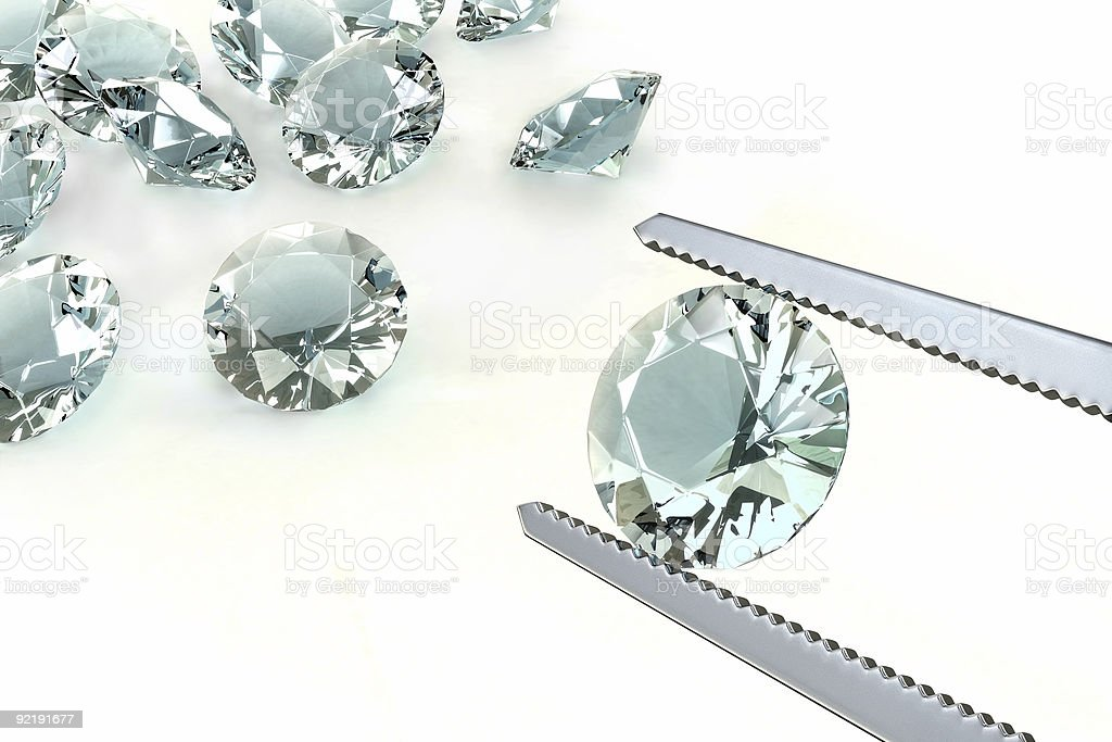 The Best Diamond royalty-free stock photo
