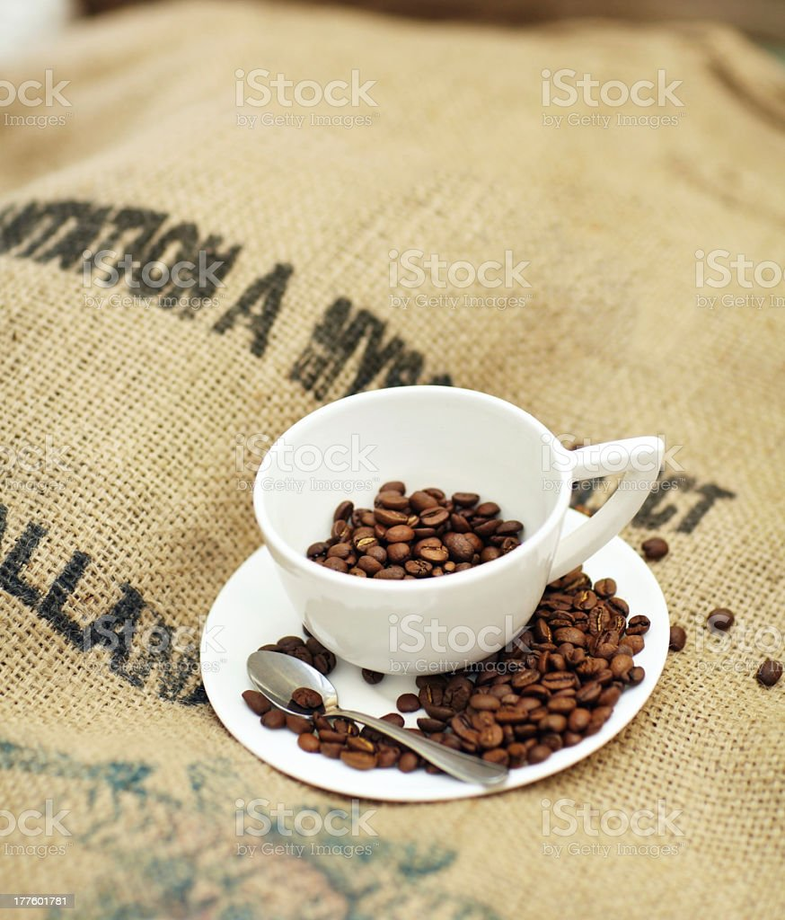 The best exported coffee royalty-free stock photo