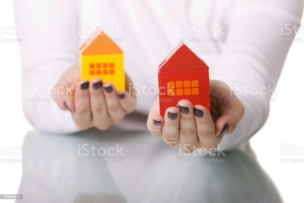 The best house deal royalty-free stock photo