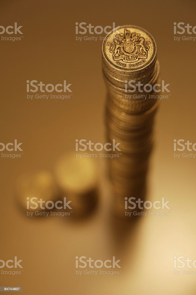 The best investment [Pounds] royalty-free stock photo